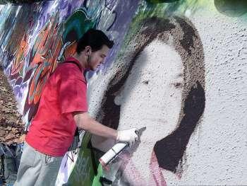 Duvara Grafiti Resmi