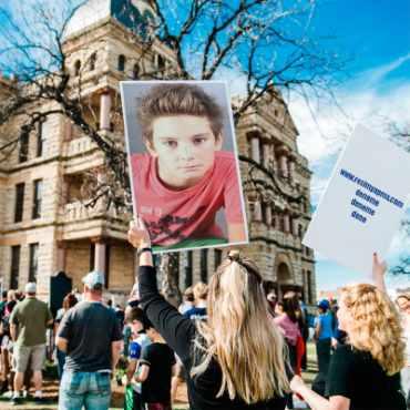 Eylemci Fotoğrafı