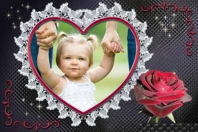 Aşk Çerçevesi Fotoğrafı