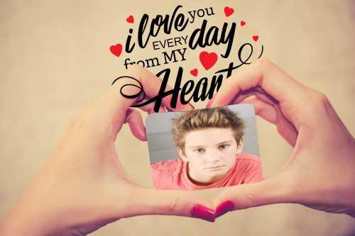 El İle Kalp Çerçevesi
