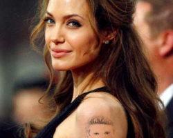 Angelina Jolie Koluna Dövme