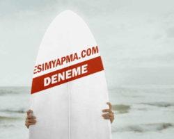 Sörf Tahtası Üzerine Yazı Yaz