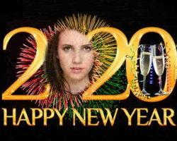 2020 Mutlu Yeni Yıl Fotoğrafı