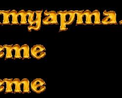 Liquid Gold Yazı Fontu