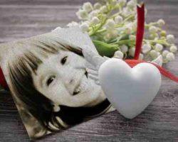 Beyaz Kalp Ve Resim