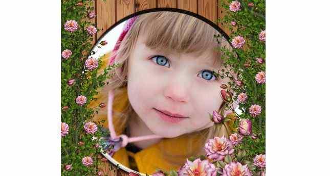Pembe Güller İçinde Resim