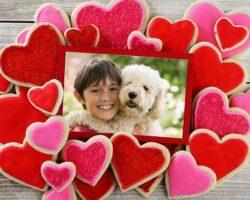 Kalpli Şeker Resim Efekti