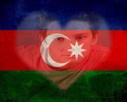 Azerbaycan Bayrağı Resmi