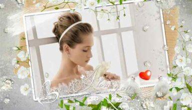 Beyaz Güller Ve Güvercinler
