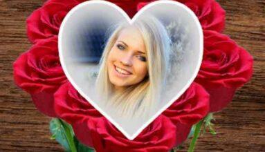 Kırmızı Güller Ve Kalp