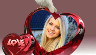 Kalp Ve Beyaz Güvercin