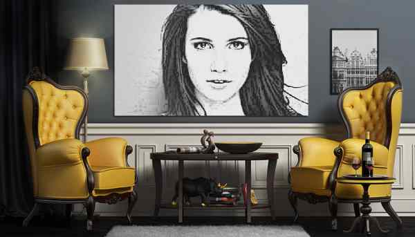 Oturma Odasındaki Fotoğraf
