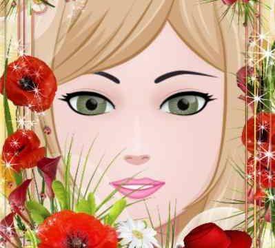 Gelincik Çiçeği Resim Çerçevesi