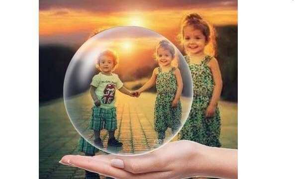 Küre İçinde Fotoğraf